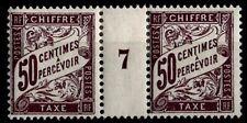 Millésime 1897 du Timbre TAXE n°37, Neufs * = Cote 35 € / Lot France