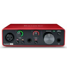 Focusrite Scarlett Solo (3rd Gen) USB Audio Interface