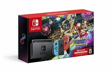 Nintendo Switch 32GB Handheld Gaming Console + Mario Kart 8 Deluxe Edition