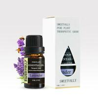 Aromatherapy Essential Oils Natural Pure Organic Essential Oil Lavender 10ml