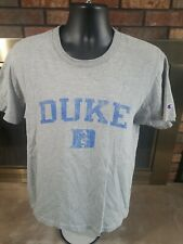 Duke Blue Devils Champion Basketball NCAA Crewneck T Shirt Mens Size Medium Gray