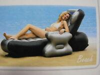 Massagesessel - aufblasbar, Pool - Schwimmsessel, Relaxsessel - aufblasbar