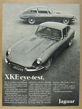 1968 Jaguar XKE XK-E Coupe & 2+2 photo vintage print Ad