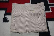 Polo Ralph Lauren Made in Italy 100% Cotton Seersucker Dress Pants 35
