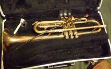 Vincent Bach Selmer Bundy Trumpet w/ case & mouthpiece, acceptable condition