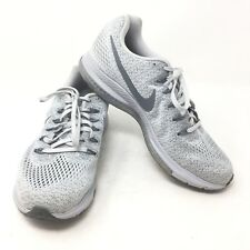 Nike Zoom All Out Low Running Shoes Platinum Gray 878671-101 Women's Size 9 D2B