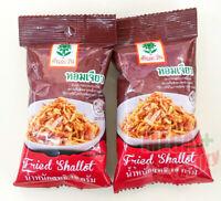 4x12g Fried Garlic Sprinkling Crispy Thai Cooking Tontawan Brand Side Dish Yummy