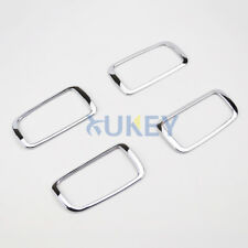 For Mitsubishi Outlander 2013-18 Chrome Inner Door Handle Catch Cover Bowl Trim