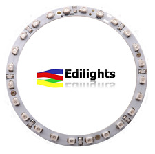 MODULO A CERCHIO 24 LED RING 80MM 12V LUCE VERDE GREEN