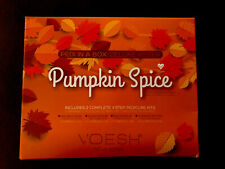 Voesh Pedi in a Box Deluxe Pumpkin Spice 2 Complete 4 Step Pedicure Kits