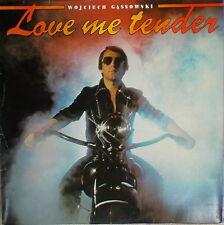 LP WOJCIECH GASSOWSKI - LOVE ME TENDER ,MINT-,gewaschen ,Wifon 024 von 1981