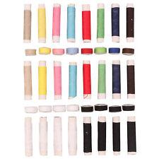 40pc ASSORTITI filati per cucire Spool Set Colori Poliestere Spool Bobbin UK Vendita