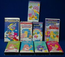 Care Bears VHS Tapes Lot