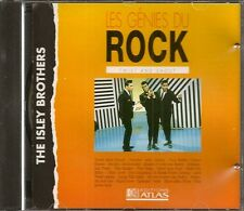 MUSIQUE CD LES GENIES DU ROCK EDITIONS ATLAS - THE ISLEY BROTHERS N°22