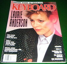 1989 Laurie Anderson, FINE YOUNG CANNIBALS, EMAX 11 Test, Keyboard Magazine