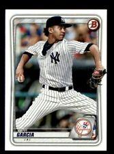 2020 Bowman Devi Garcia Yankees Top Rookie