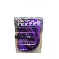 Tangle Teezer Compact Styler Purple Dazzle - £3 INTERNATIONAL DELIVERY
