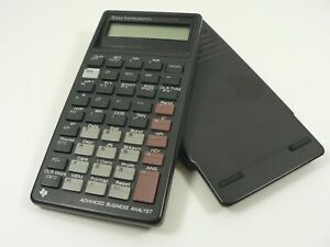 Texas Instruments Calculator BAII Plus Advanced Business Analyst Handheld