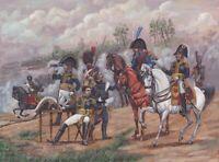 Zvezda 8080, 1:72, Hist. Franz. Napoleons Generalstab, 8 Reiter, 10 Fusser, 1 Ti