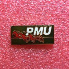 Pins CHEVAL Horse Course SULKY PMU