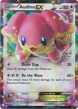 Pokemon XY Fates Collide Audino EX Ultra Rare Card 84/124
