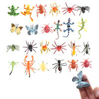 12pcs Plastic Insect Model for Kid toy Novelty Tricky toys 3CPJU