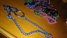 Cadena colores larga para llavero con mosqueton y anilla 39 cms cartera y llaves