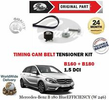 FOR MERCEDES W246 B160 B180 1.5 CDI 2013-  NEW TIMING CAM BELT TENSIONER KIT