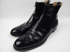 Helmut Lang Black Leather Chelsea Boots Men's 12.5 13.5