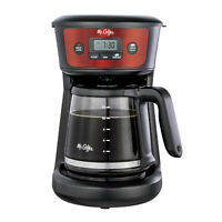 Mr. Coffee 12-Cup Programmable Coffeemaker, Strong Brew Selector, Cranberry
