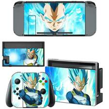 Nintendo Switch Joy-Con Dock Console Vinyl Skin Decal Dragon Ball Z Vegeta Super