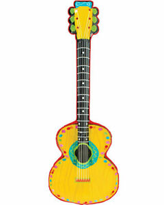FIESTA MEXICAN INFLATABLE MARIACHI GUITAR PARTY DECORATION COSTUME ACCESSORY