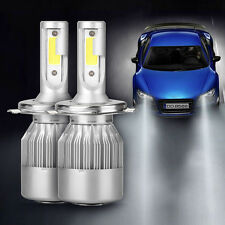H4 Hi/Lo LED Headlights Conversion Kit Car Beam Bulbs Driving Lamps 110W 20000LM