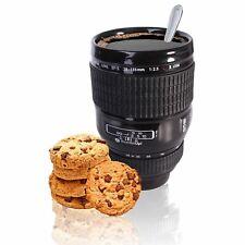 Ceramic Camera Lens Coffee Cup Tea Mug Novelty 400ml Canon Style