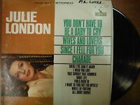 33 RPM Vinyl Julie London You Don't Have To Be a Baby To Cry Liberty  011315SM