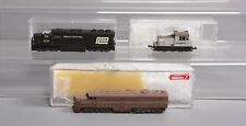 N Scale Pennsylvania Rail Road Diesel Locmotives (3)