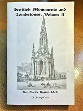 Scottish Monuments and Tombstones : Volume 2 by Charles Rogers (1997 Facsimile)