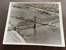 """VINTAGE 10"""" x 8"""" MISSISSIPPI VALLEY BARGE LINE CO """"LOUISIANA TOWBOAT"""" PHOTOGRAPH"""