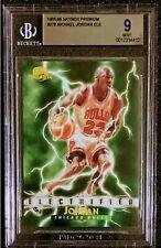 1995-96 SKYBOX PREMIUM ELECTRIFIED MICHAEL JORDAN #278 BGS 9 MINT!!!!!