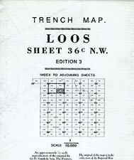 TRENCH MAP OF LOOS SHEET ED3