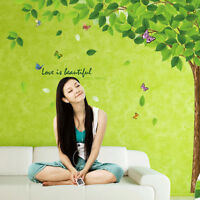 180*130cm Tree Art Vinyl Quote DIY Flower Wall Sticker Decal Mural Removable New