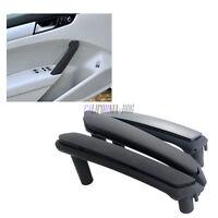 Set of 3Pcs Interior Door Handle Trim Cover Black For VW Passat B5 1998-2005 LHD