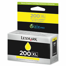 New Genuine Lexmark 200XL Yellow Ink Cartridge for All-in-One Pro 4000