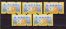 Bund, ATM 3.3 VS3 komplett, Versandstellensatz, postfrisch Automatenmarken (155)