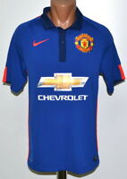 MANCHESTER UNITED 2014/2015 THIRD FOOTBALL SHIRT JERSEY NIKE SIZE S ADULT