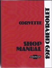 Werkstatthandbuch / Shop manual Chevrolet Corvette 1979