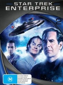 Star Trek Enterprise : Season 2 (DVD, 2008, 7-Disc Set)
