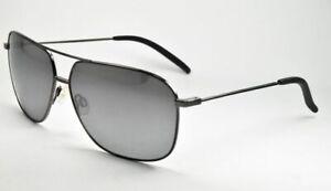 Maui Jim Sunglasses KAMI  MJ 778-02D Gunmetal / Dual Mirror Silver to Black