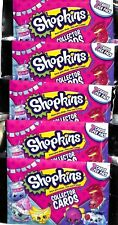 Season 5 & 6 Shopkins Collector 5 Trading Cards Packs