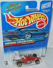 Virtual Collection Cars-Super modified-red/white - 1:64 Hot Wheels 158/2000